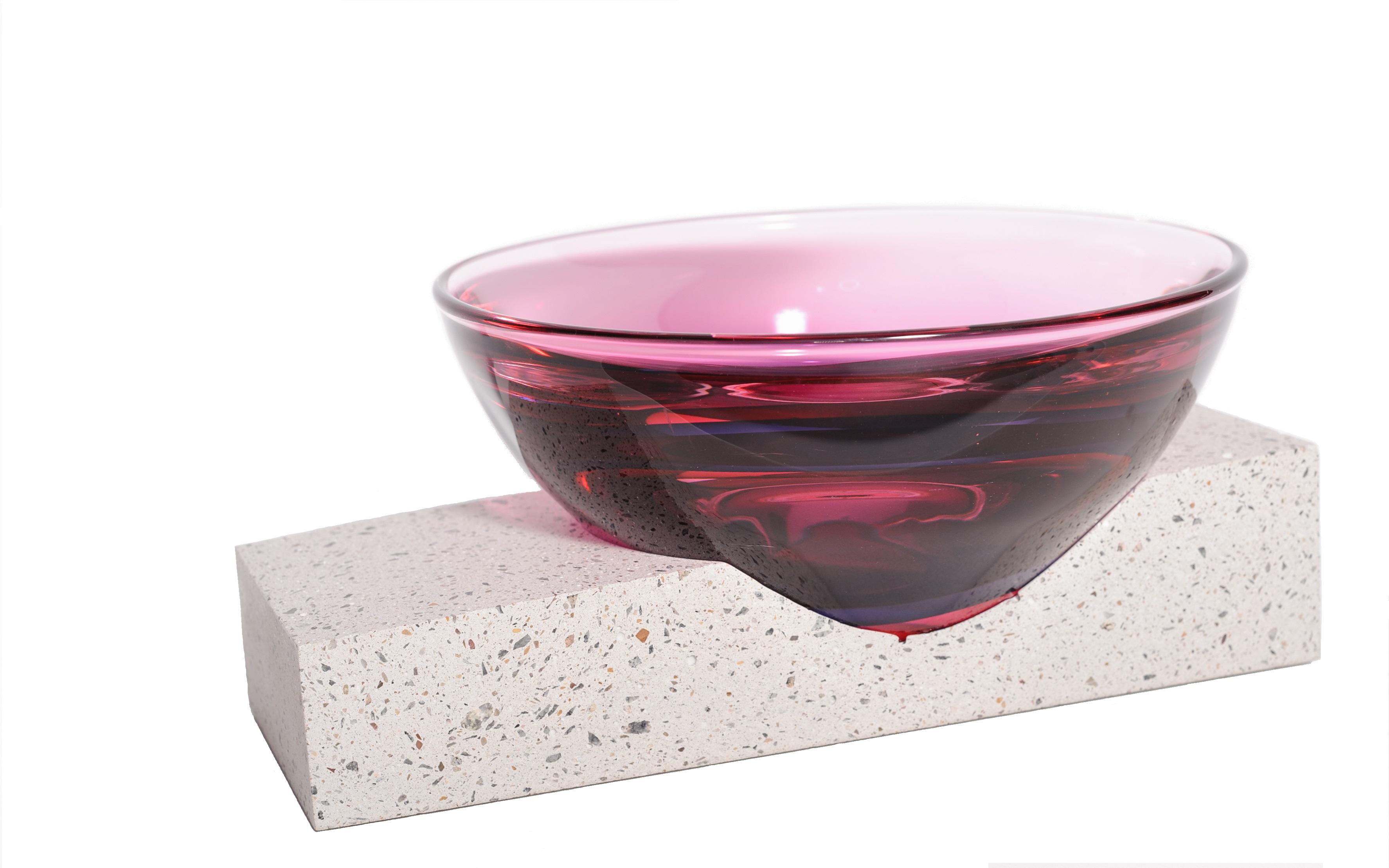 Robert Schrempp/Beton/Glas/Skulptur/Objekt